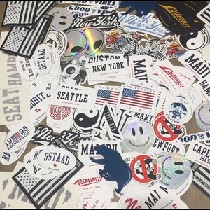 Pack of 30 Brandy Melville stickers